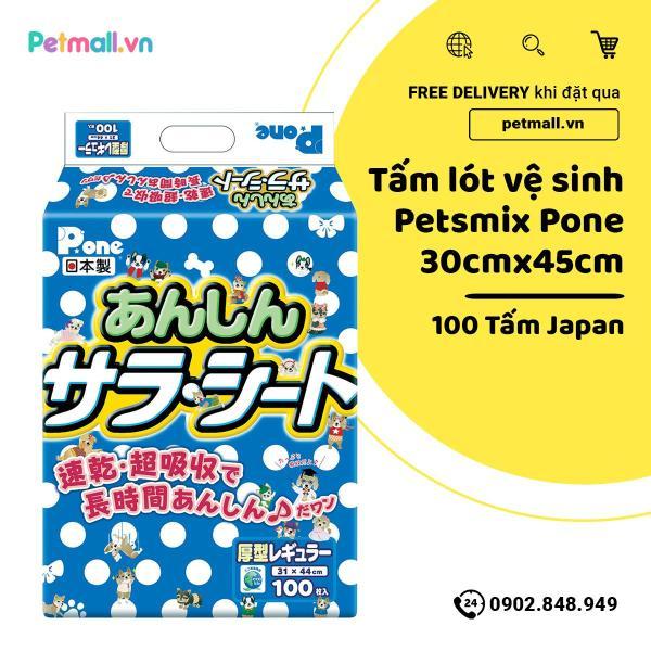 Tấm lót vệ sinh PetsMix Pone 30cm x 45cm - 100 tấm Japan