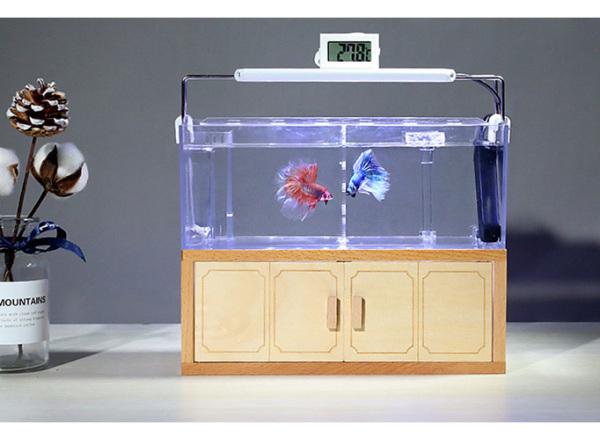 Bể cá thủy sinh mini để bàn 02