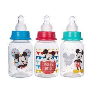 (Made in Thailand) Bộ 3 Bình Sữa CỔ HẸP (CỔ THƯỜNG) 125ml 250ml Disney Baby (DN1611 DN1612) thumbnail
