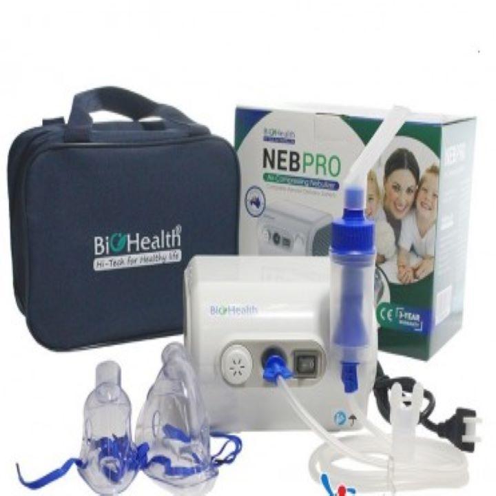 Máy xông khí dung BioHealth NEB Pro nhập khẩu