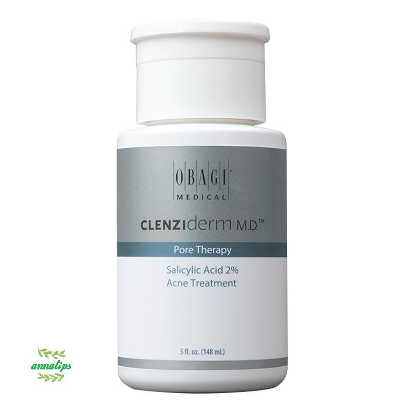 Dung dịch BHA giúp giảm mụn, giảm nhờn Obagi Clenziderm MD Pore Therapy 148ml