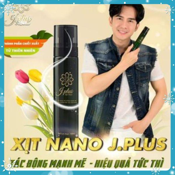 Xịt Tan Mỡ Nano Jplus giảm cân an toàn hiệu quả