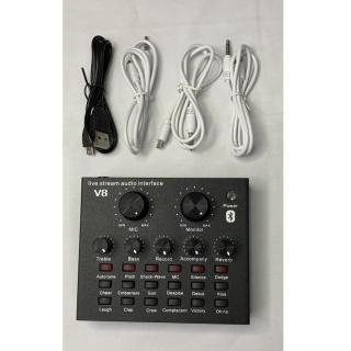 Sound card Thu Âm hát karaoke V8 thumbnail