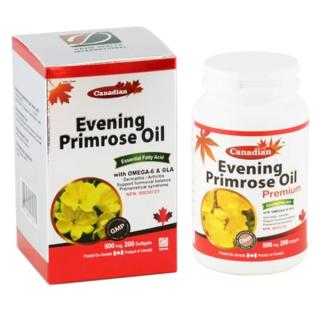 Dầu Hoa Anh Thảo Chiều David Health Điều Tiết Tố Nữ Evening Primrose Oil 200 Viên thumbnail