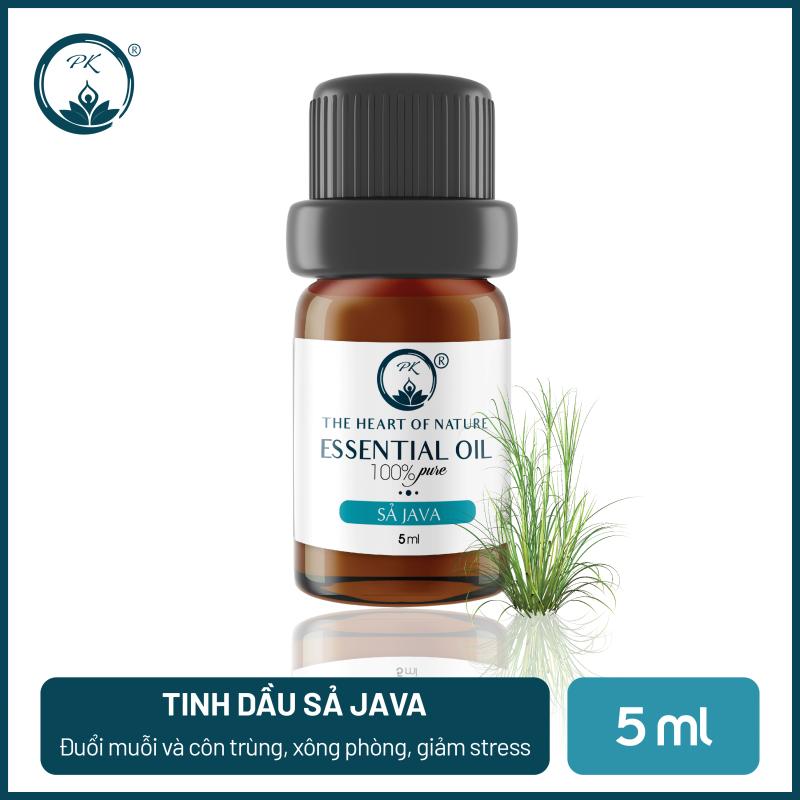 [GIÁ DÙNG THỬ] Tinh dầu Sả Java PK 5ml - thiên nhiên nguyên chất