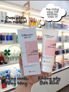 [Chính hãng] Kem chống nắng, nâng tone HÀN QUỐC SJM Medical Anti UV SPF 50+ 60gram thumbnail