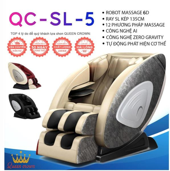 GHẾ MASSAGE QUEEN CROWN QC-SL5 4D