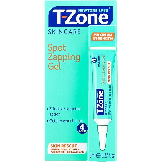 Kem giảm mụn cấp tốc giảm thâm mụn T-Zone Spot Zapping Gel 8ml