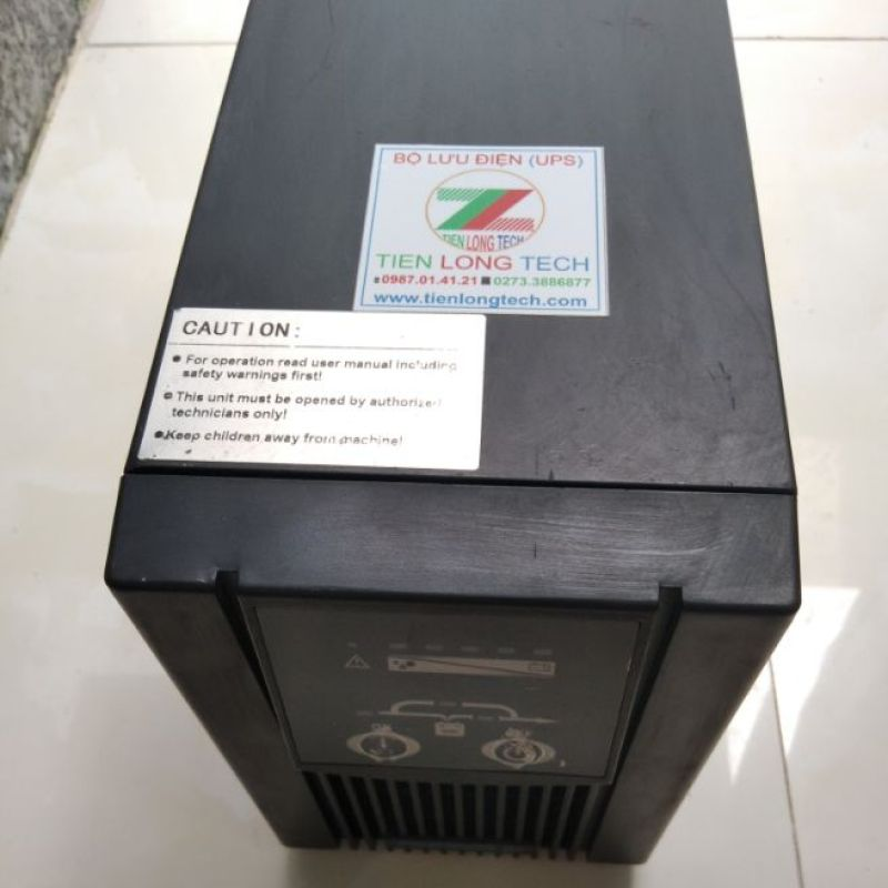 Bảng giá BỘ LƯU ĐIỆN (UPS) ONLINE DIEBOLD C1KVAL 1KVA-700W Phong Vũ