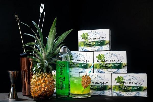 Nước ép cần tây Green Beauty, giữ dáng, giảm cân, đẹp da, tăng cường nội tiết tố nữ giá rẻ