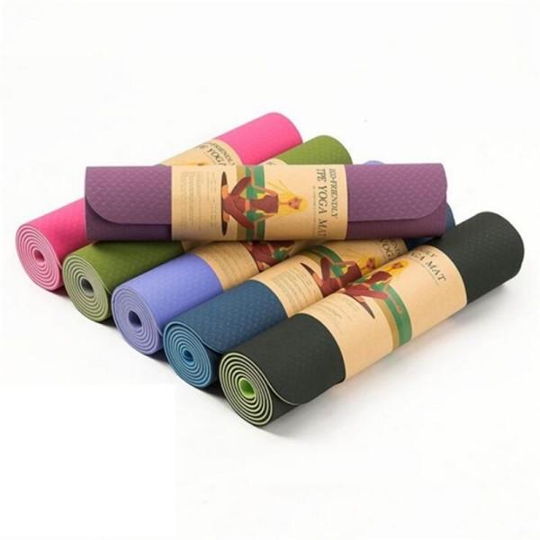 [HCM]Thảm Tập Yoga Tpe Cao Cấp 2 Lớp 6mm
