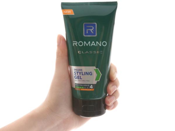 Gel vuốt tóc Romano Classic giữ nếp lâu 150g giá rẻ