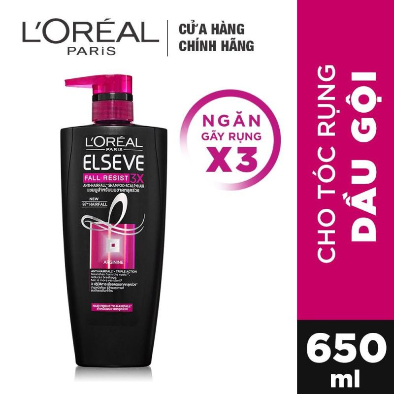 Dầu gội ngăn rụng tóc LOreal Paris Elseve Fall Resist 3X Shampoo 650ml giá rẻ