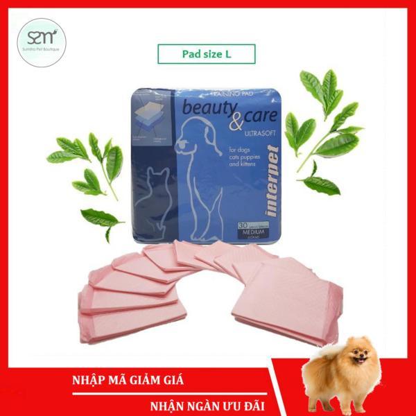 10 cái Tã lót vệ sinh chó mèo size L (60x60cm) (có mùi hương) Sumiho công nghệ Ý