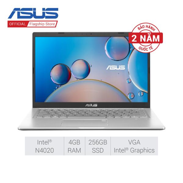 Bảng giá Laptop Asus Vivobook X415MA-BV087T (Celeron N4020/4GB/256GB SSD/14/VGA ON/Win10/Silver) Phong Vũ