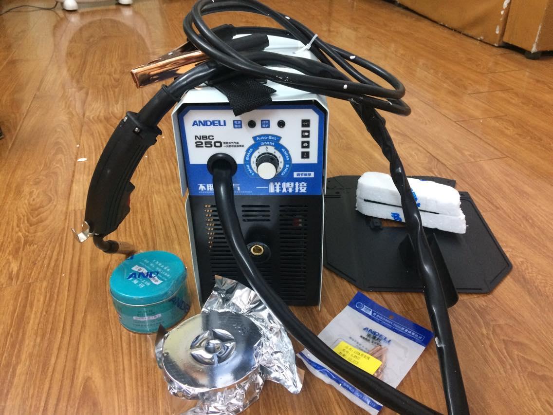 máy hàn mig nbc-250 adeni(không dùng khí)