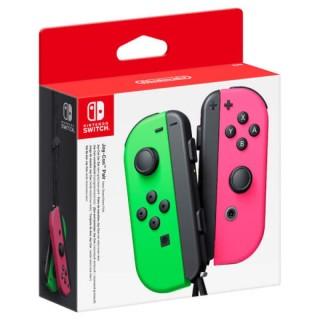 Joy Con Chính Hãng Nintendo Switch Màu Xanh Hồng ( Splatoon 2 ) thumbnail