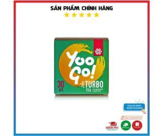 Trà thảo mộc Yoogo Turbo Tea, trà giảm cân giúp loại bỏ độc tố và đánh bay mỡ thừa hiệu quả hộp 30 túi lọc [Chính hãng] thumbnail