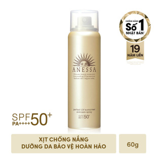 Kem chống nắng dạng xịt dươ ng da bảo vệ hoàn hảo ANESSA Perfect UV Sunscreen Skincare Spray SPF 50+ PA++++ thumbnail