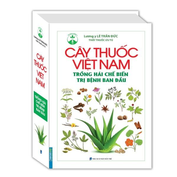 Mua Sách - Cây thuốc Việt Nam trồng hái chế biến  bệnh ban đầu (bìa cứng) - Mhbooks