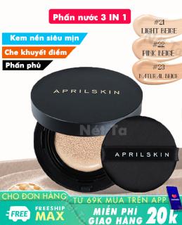 Phấn nước April Skin Magic Snow Cushion 2.0 SPF50+ PA+++ 15g màu 21,22, 23 Hàn Quốc thumbnail