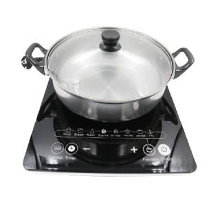 Bếp từ đơn Hitachi model DH-15T7 (màu đen) siêu bền, đun nấu đa năng. Bếp có các tính năng mà những chiếc bếp âm hiện đại đang có như hẹn giờ, khóa trẻ em, vận hàng dễ dàng, mặt kính chịu nhiệt cao. thumbnail