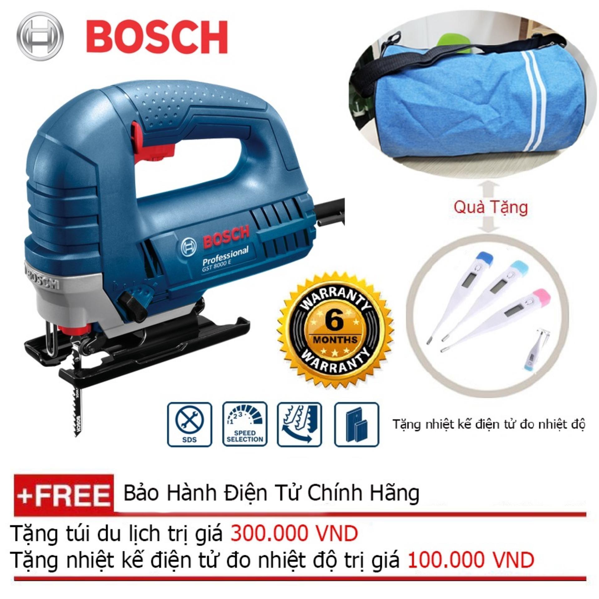 Máy cưa lọng Bosch GST 8000E + Quà tặng balo du lịch