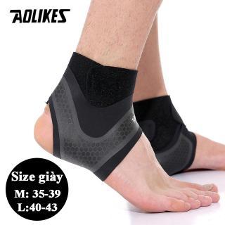 Bộ 2 đai quấn bảo vệ mắt cá chân chống lật cổ chân khi chơi thể thao Sport ankle pads AOLIKES A-7130 thumbnail