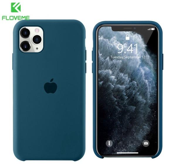 Giá Floveme Có Logo Ốp lưng iPhone chính hãng cho iPhone 11 11Promax 6 7 8 Plus Ốp silicon mềm cho iPhone X XS XR Xsmax