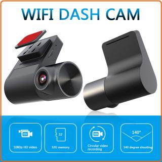 [miễn phí vận chuyển] Camera Hành Trình V2 Chuyên Nghiệp, Kết Nối WiFi, Đầu Ghi Hình 720P HD Dashcam Với Ống Kính Xoay 270 Độ thumbnail