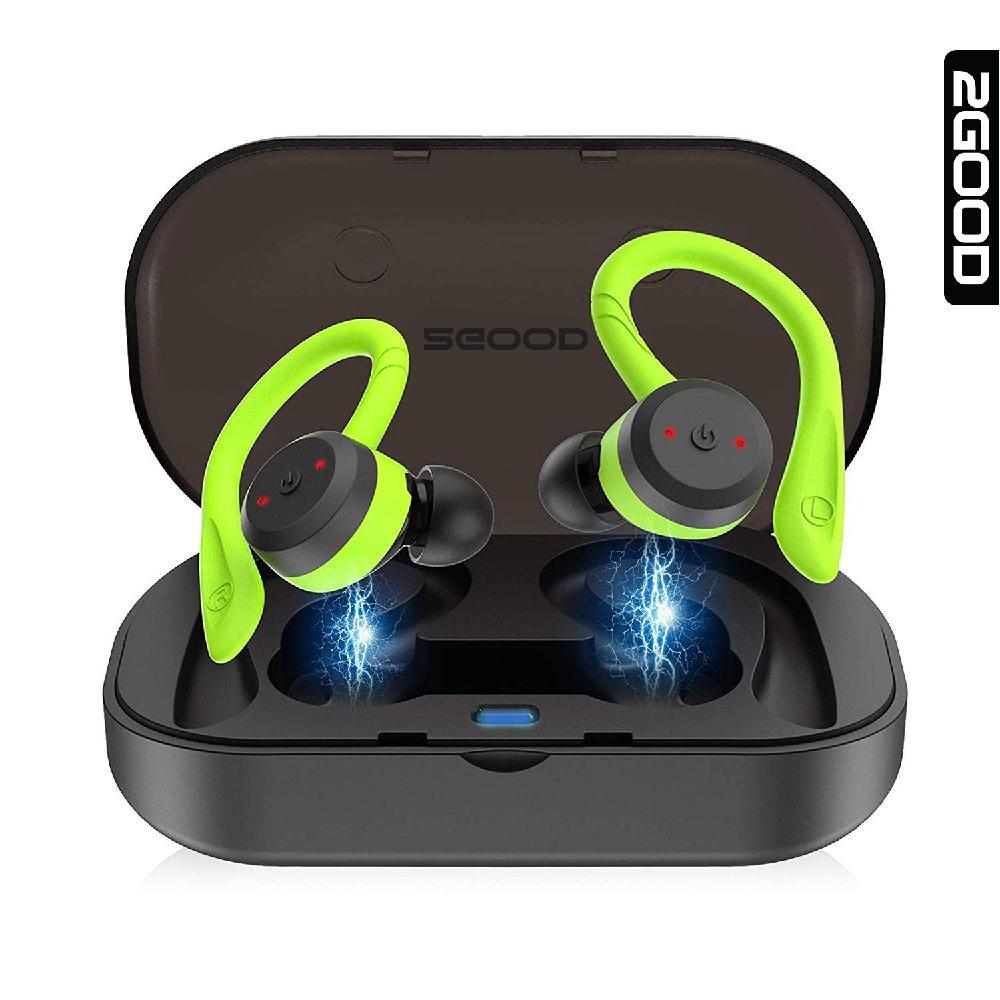 Tai nghe Bluetooth 2GOOD Runner IPX7, Trải nghiệm âm thanh cao cấp, Kháng nước, Bluetooth 5.0, Bảo hành 1 năm