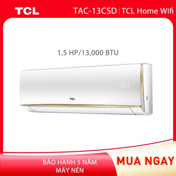 Máy lạnh Inverter TCL Home Pro Wifi - 1.5 HP - 13.000 BTU - Wifi (Trắng) công nghệ Turbo - Hàng phân phối chính hãng