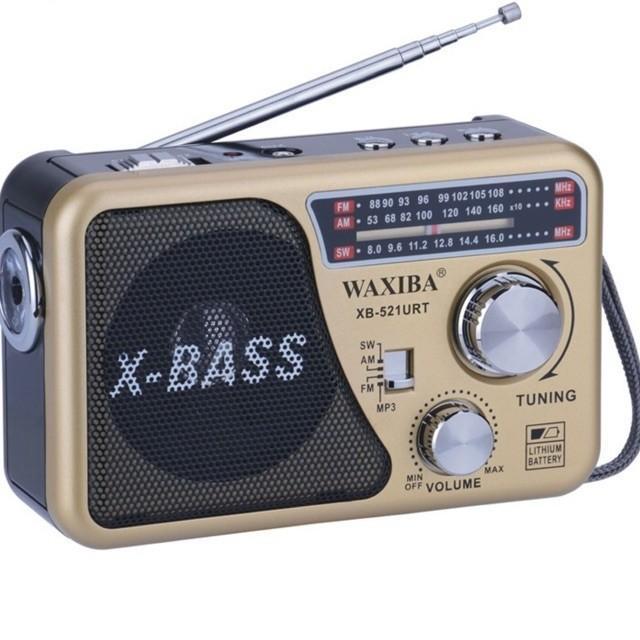 Mã Khuyến Mại Đài USB NGHE NHẠC WAXIBA XB-521URT RADIO AMFM SW