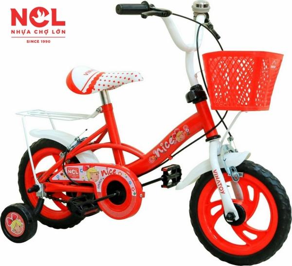 Phân phối Xe Đạp Trẻ Em Nhựa Chợ Lớn 12 inch K104 Dành Cho Bé Từ 3 - 4 Tuổi - M1798-X2B