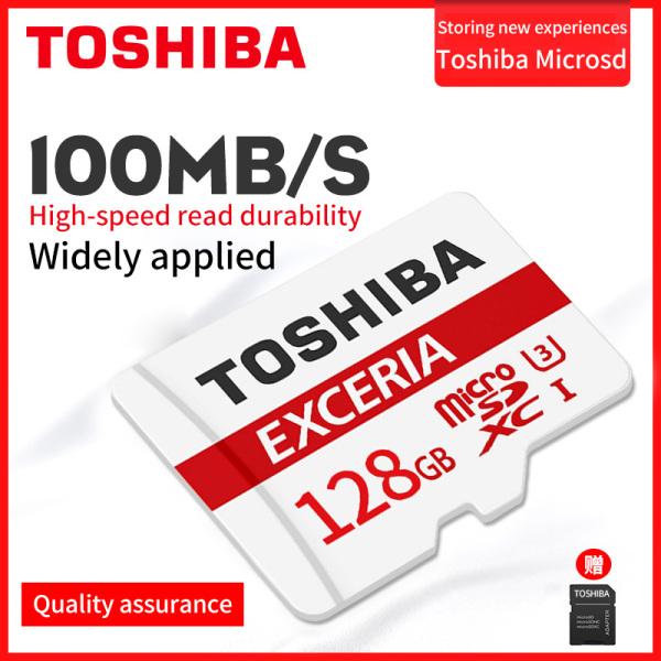 Thẻ nhớ MicroSDXC Toshiba M203 UHS-I U1 128GB 100MB/s (trắng)