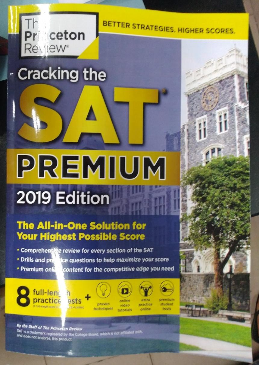 Mã Giảm Giá Khi Mua Cracking The SAT Premium Edition With 8 Practice Tests, 2019