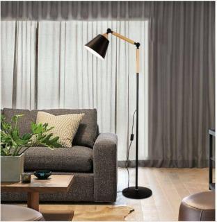 Đèn cây đứng - đèn sàn nội thất nhập khẩu cao cấp DC003 - tặng kèm bóng LED Rạng Đông chính hãng thumbnail