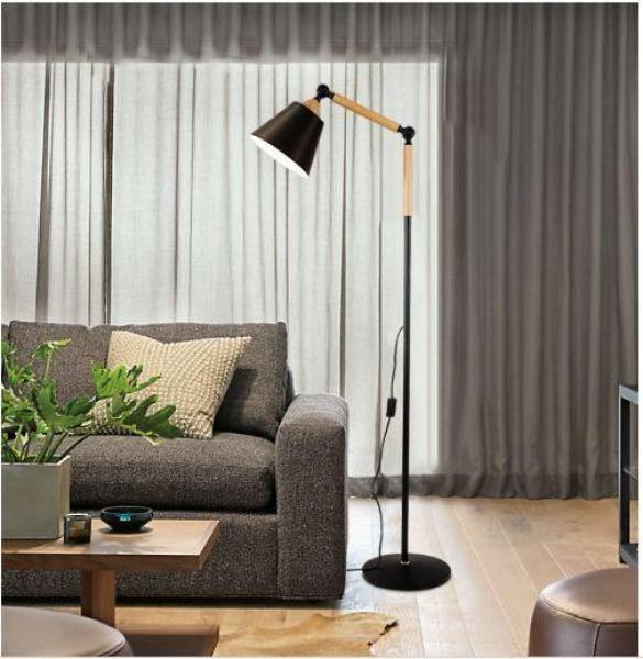 Bảng giá Đèn cây đứng - đèn sàn nội thất nhập khẩu cao cấp DC003 - tặng kèm bóng LED chính hãng
