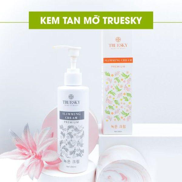 [Phiên Bản Cao Cấp] Kem Tan Mỡ Bụng Câp Tốc Truesky Premium O2O Shop Chiết Xuất Quế Gừng  200ml - Slimming Cream Dạng Vòi Giúp Đốt Cháy Mỡ Nhanh Eo Thon Đón Tết