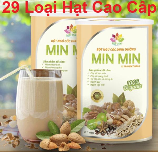 [ Chính Hãng ] 500g Ngũ Cốc Lợi Sữa Min Min 29 loại Hạt mẫu mới - Bột Ngũ Cốc Lợi Sữa MinMin giá rẻ