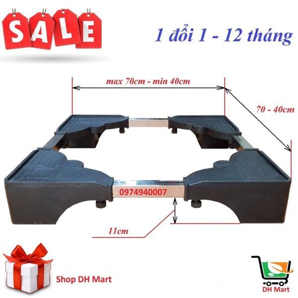 Bảng giá Chân kệ kê máy giặt, tủ lạnh (nặng 5kg, siêu dày, chịu tải 400 kg, 1 đổi 1-12 tháng) Điện máy Pico