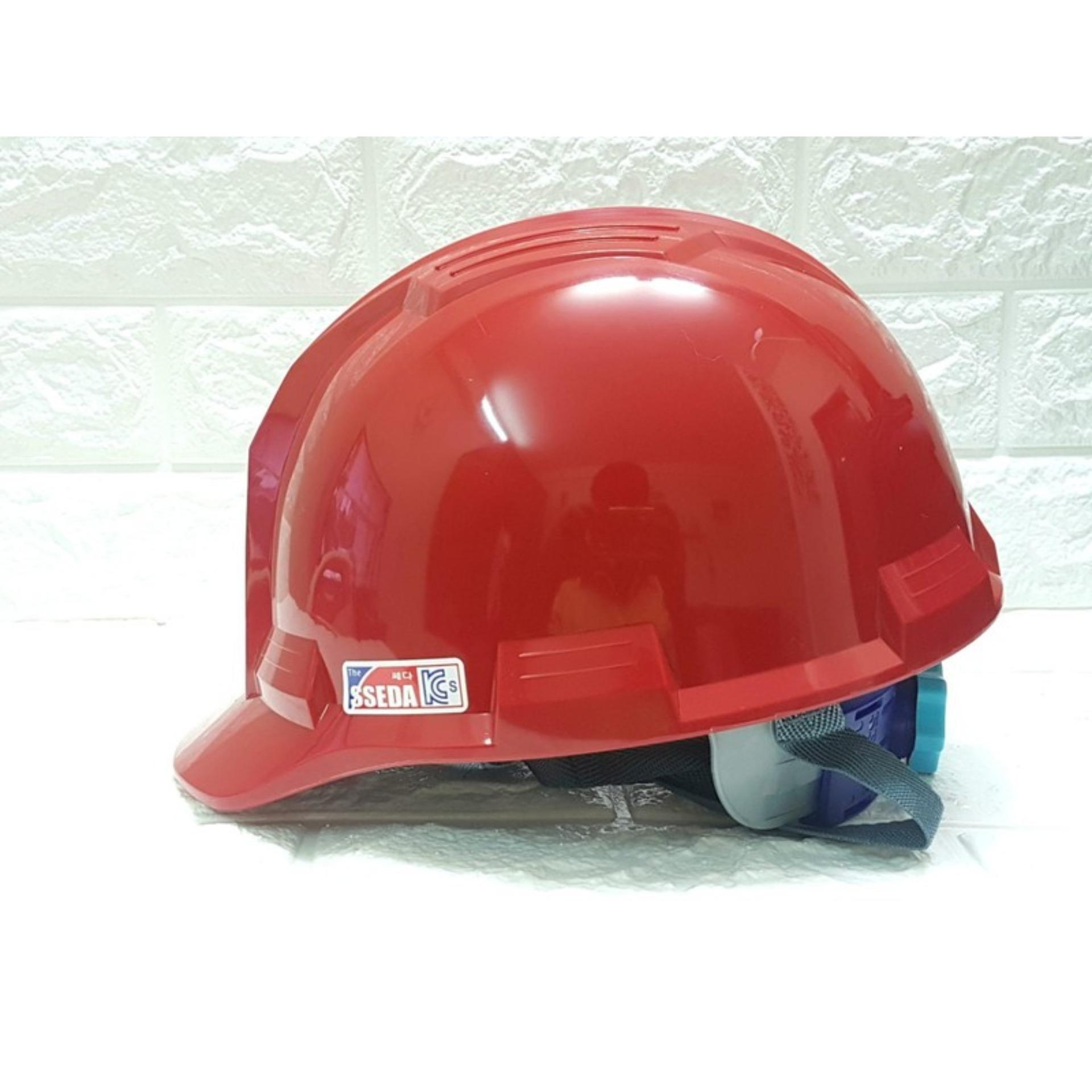 nón bảo hộ lao động SSEDA 04 hàn quốc chống va đập/ mũ bảo hộ lao động SSEDA 04 hàn quốc chống va đập màu đỏ