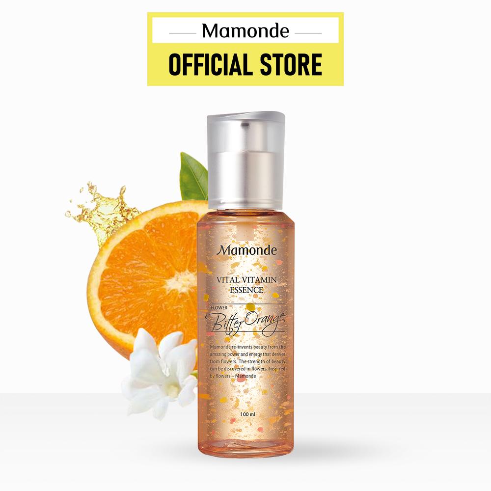 Tinh chất vitamin dưỡng ẩm cho làn da thiếu sức sống Mamonde Vital Vitamin Essence 100ml