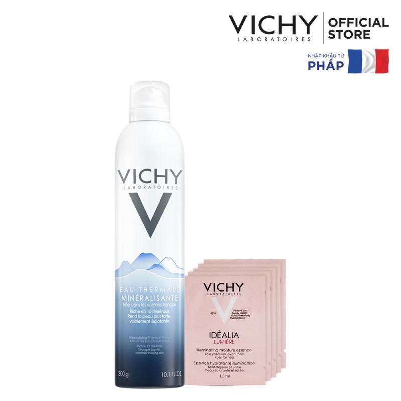Bộ xịt khoáng dưỡng da Vichy Mineralizing Thermal Water 300ml cao cấp