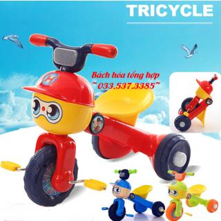 Xe đạp cho bé, xe đạp 3 bánh, xe đạp mini, xe đạp trẻ em, xe 3 bánh trẻ em hình thú ngộ nghĩnh thumbnail