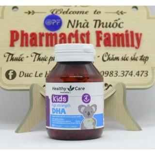 Healthycare Dha For Kid [Úc] - Dha Cho Bé - 60 Viên thumbnail