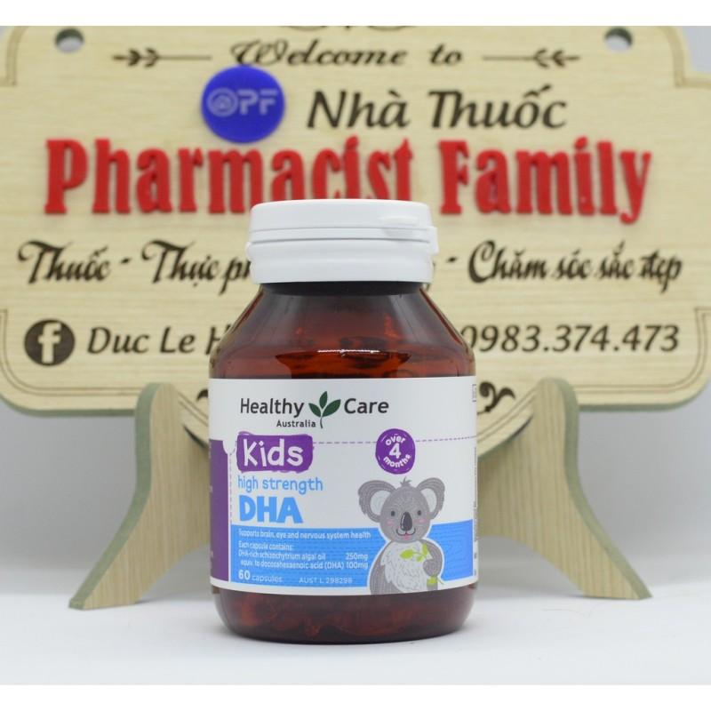 Healthycare Dha For Kid [Úc] - Dha Cho Bé - 60 Viên giá rẻ