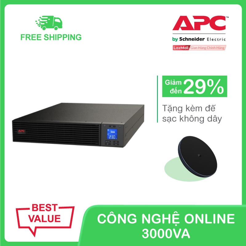 Bảng giá Bộ lưu điện APC Easy UPS SRV RM 3000VA 230V kèm giá đỡ Phong Vũ