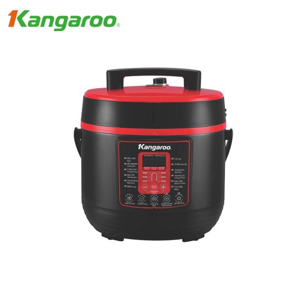 Nồi áp suất điện tử Kangaroo KG6P2 6L - Hàng Chính Hãng