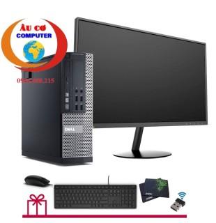 Bộ máy tính để Bàn Dell X020 ( Core i7 - 4770 Ram 8Gb SSD 120GB) và Màn hình Menda 22 inch Tặng bộ quà tặng là Bàn Phím chuột Dell + USB Wifi + bàn di chuột - Hàng Nhập Khẩu thumbnail